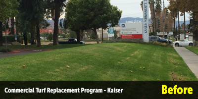 Turf Replacement Kaiser