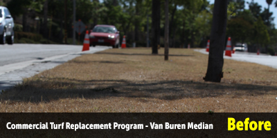 Turf Replacement Van Buren Median