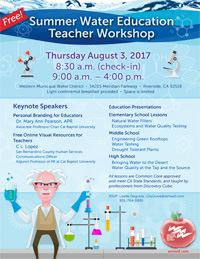 Teacher's Workshop Flier 2017