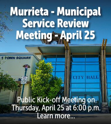 Murrieta Municipal Service Review 201904