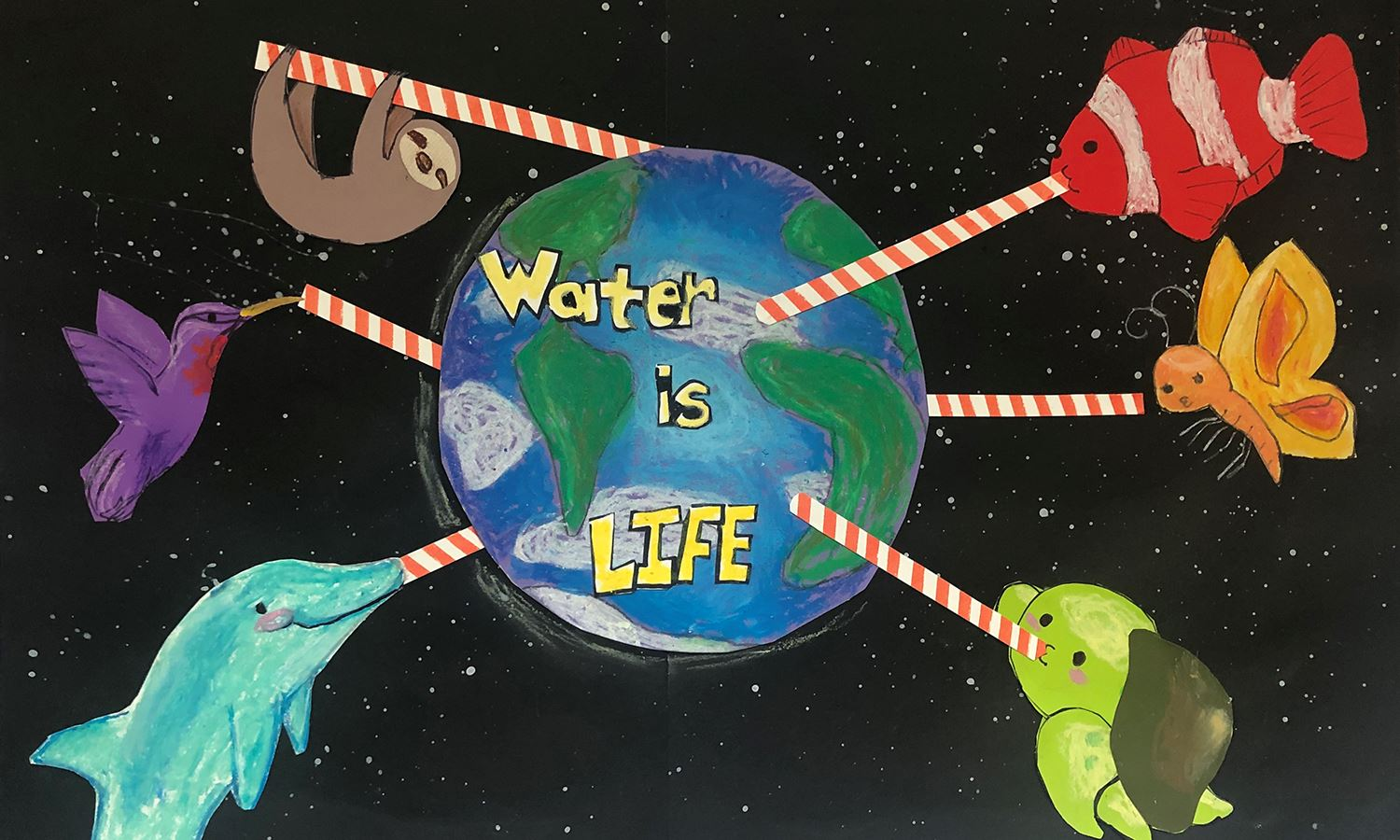 Water is life Art 2019