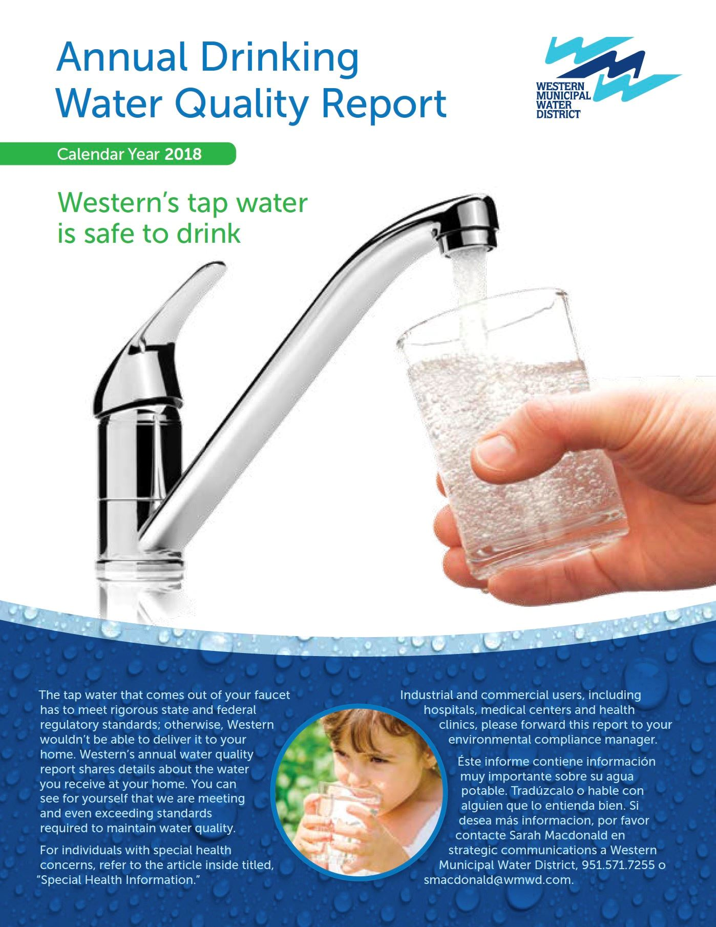 Water Quality Western Municipal Water District Ca